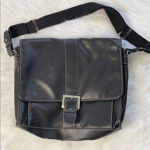 Kenneth Cole Black Laptop Bag